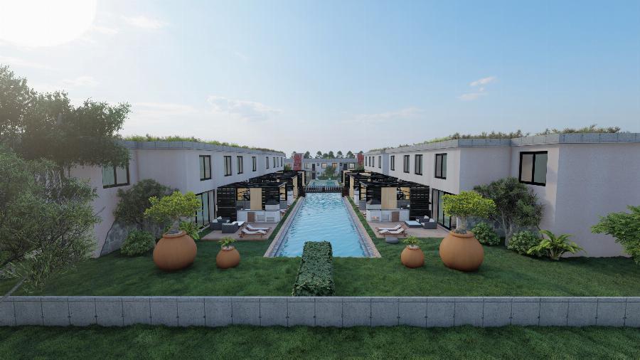 2 Bedroom Semi-detached Duplex Villas Ref. NC7692