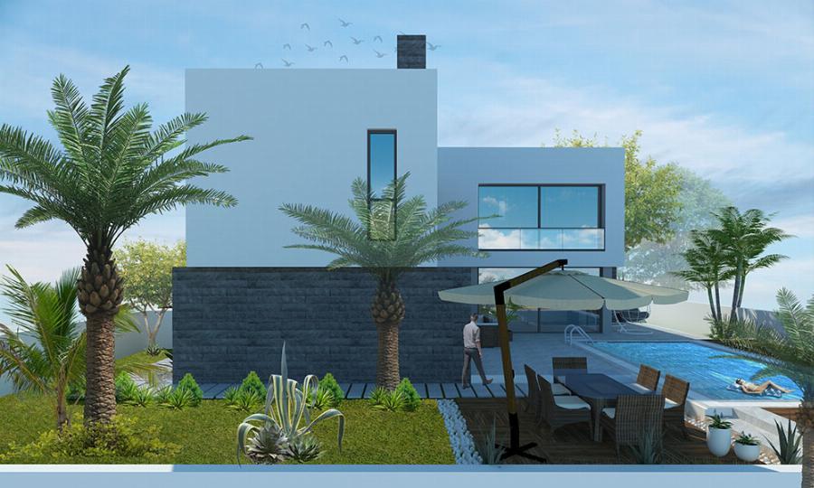 Modern 3 Bedroom Villa with Pool Option Ref. NC7724