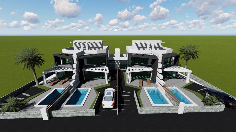 3 Bedroom Semi-detached villa Ref. NC7705