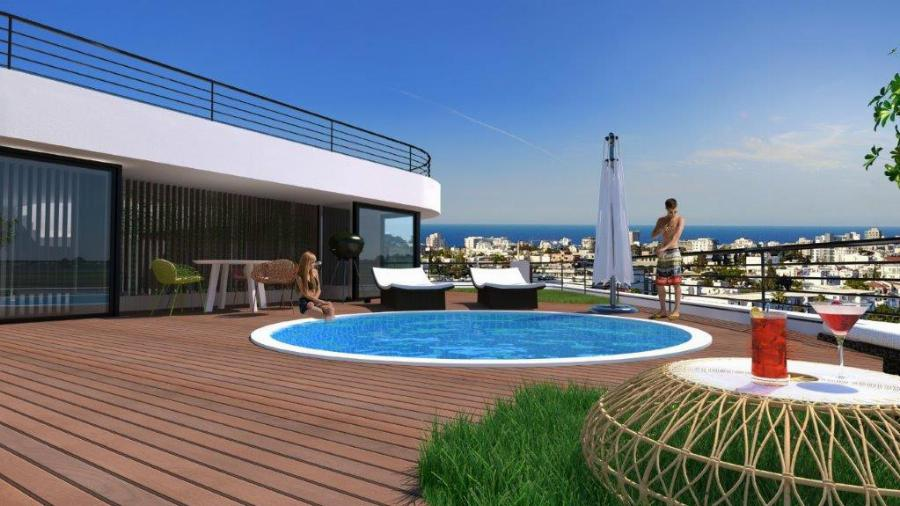 3 Bedroom Penthouse in Kyrenia Ref. NC7153