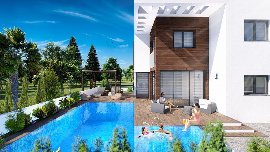 Modern 3 Bedroom Villas with Sea views Ref. NC7770