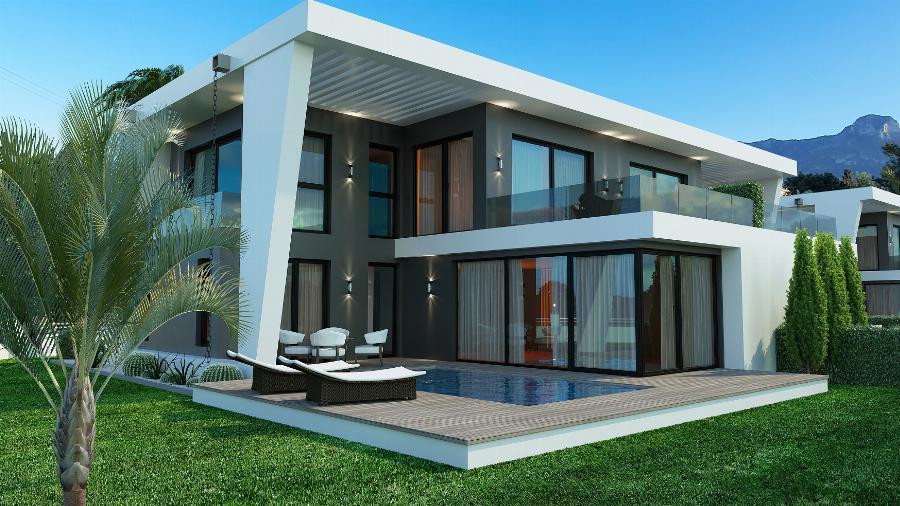 3 Bedroom Villa in Alsancak Ref. NC7777
