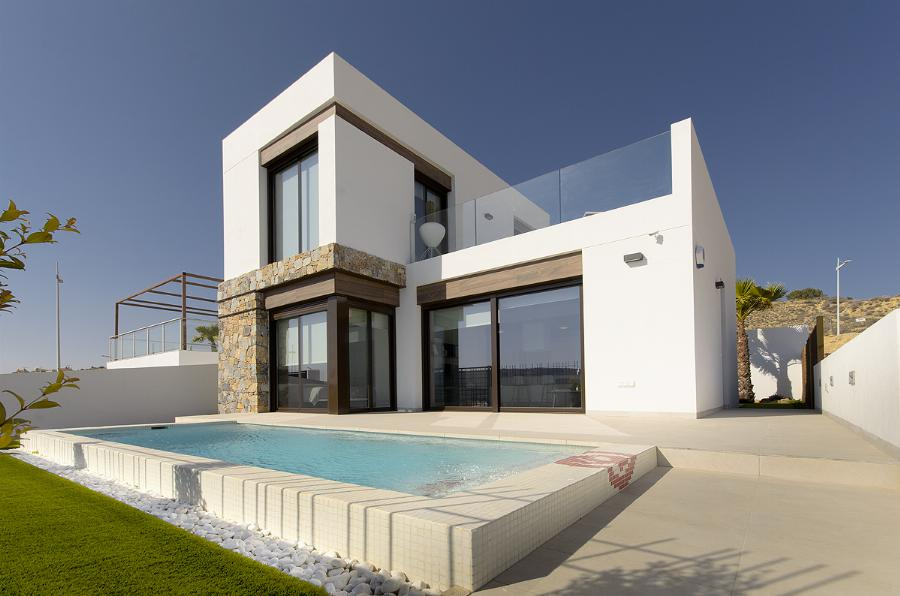"Excellent Villas with a mixture of modern design and natural finishes at ""La Finca Golf resort "" Ref. SPA17"