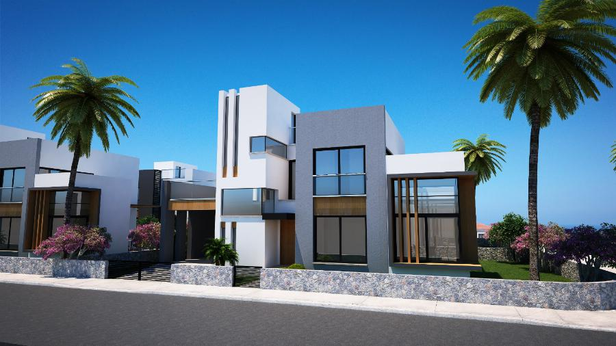 3 Bedroom Villas in Karsiyaka Ref. NC7795