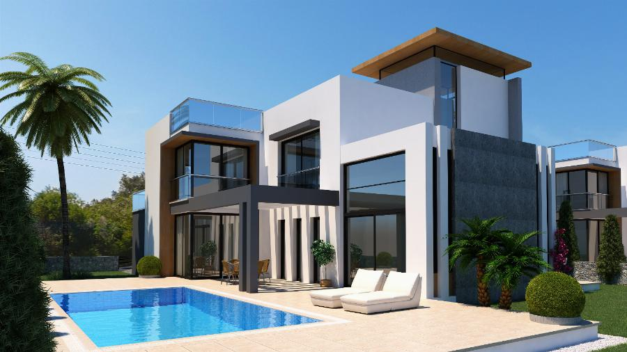 4 Bedroom Villas in Karsiyaka Ref. NC7796