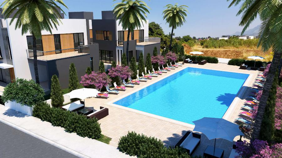 2 Bedroom Villas in Karsiyaka Ref. NC7794