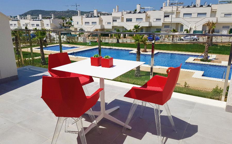 Live the experience of the 3 bedroom Penthouses at Vistabella Golf  Ref. SPA1615