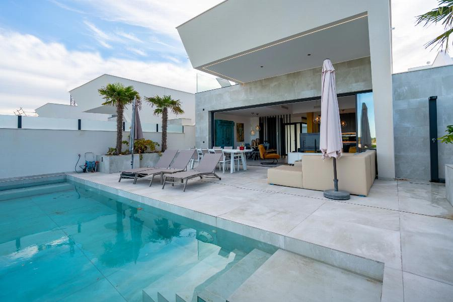 Exclusive and luxurious design villa built under architecture with panoramic sea views and nature reserve Ref. SPA1621