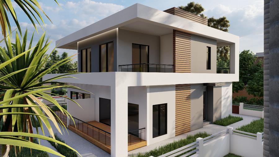 3 Bedroom Semi-Detached Villa close to beaches Ref. NC7818