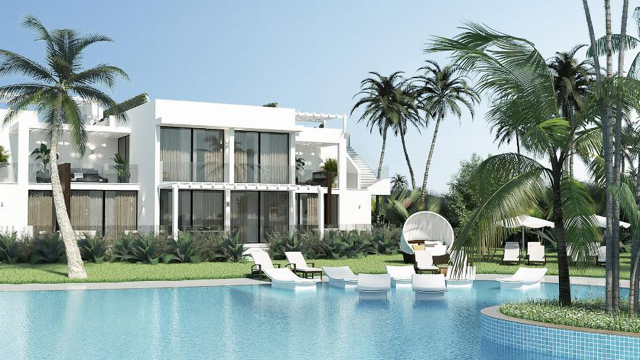 1 Bedroom Garden Apartment by the Beach Ref. NC7813