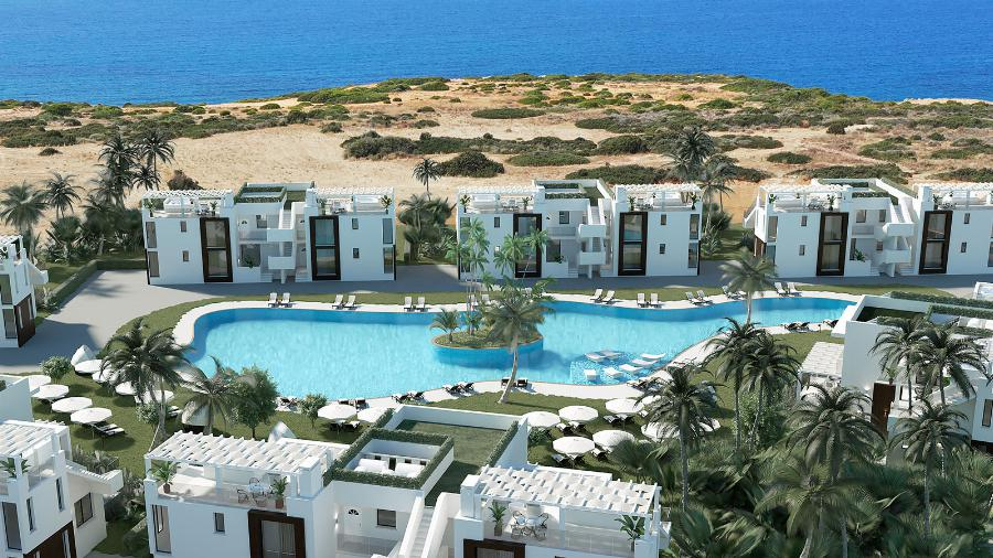 2 Bedroom Penthouse Apartment by the Beach Ref. NC7815
