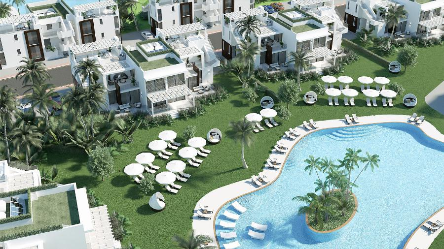 1 Bedroom Penthouse Apartment by the Beach Ref. NC7814