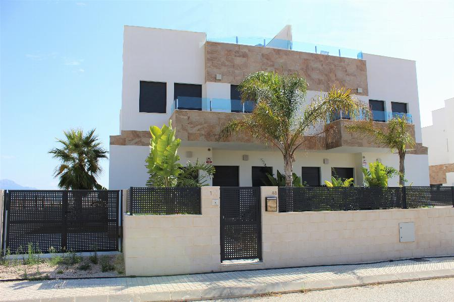 Unique semi-detached 3 bedroom penthouses in the North Costa Blanca area Ref. SPA1642