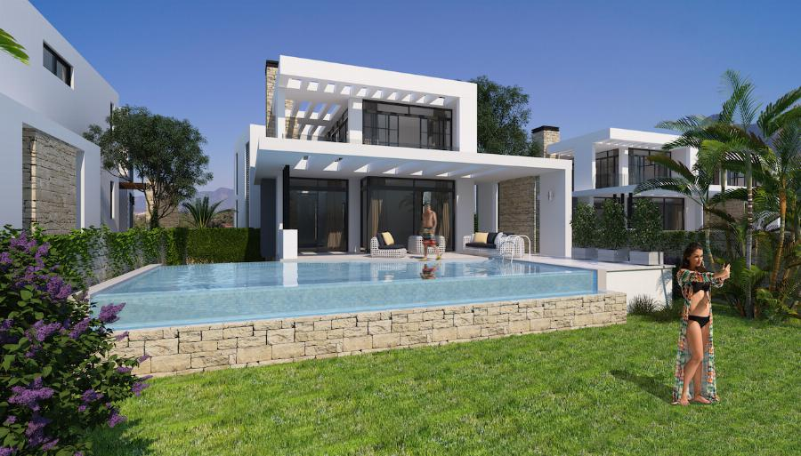 Modern Villas by the Beach Ref. NC7820