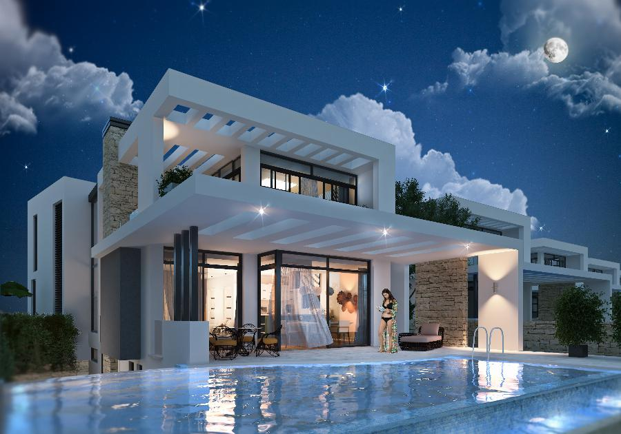 Modern Villas by the Beach with 4 bedrooms Ref. NC7821