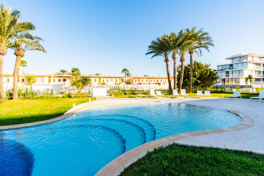 Wake up by the sea: Key Ready 2 Bedroom PENTHOUSES at the serene sandy beaches of Denia Ref. SPA1674
