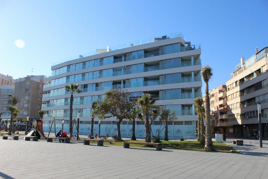 First line spacious and luxurious Beach apartments with panoramic Sea views Ref. SPA1652