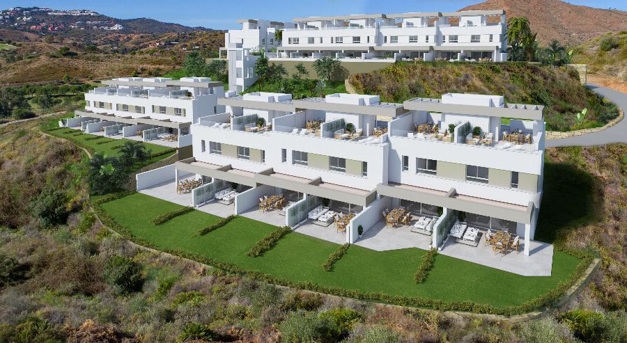 Brand New Townhouses Natura at La Cala Golf & Country Club Resort Ref. SPA1663