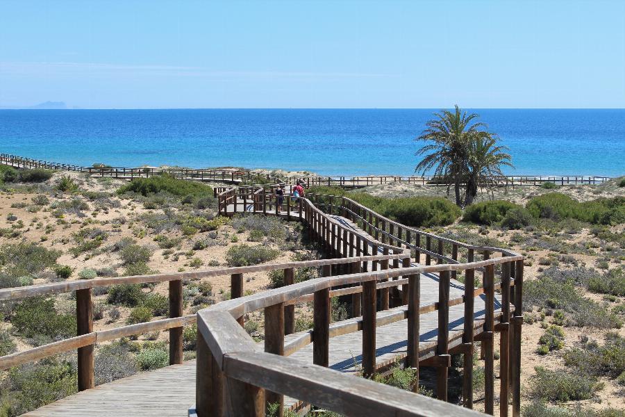 Contemporary design 3 bedroom penthouses at Gran Alacant near the Mediterranean Sea Ref. SPA1662