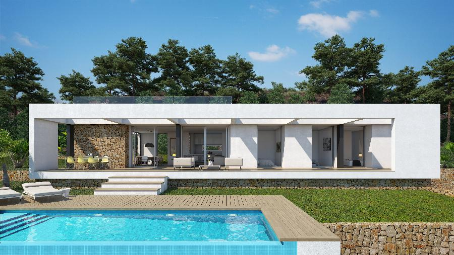 Luxury design villas plot more than 1.000 m2 on award-winning golf resort with phenomenal views of the hills, golf course and forests! Ref. SPA1680