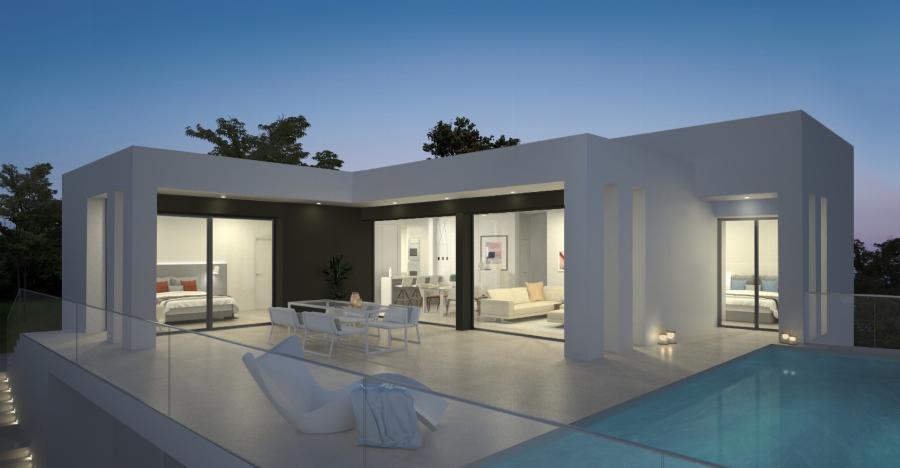 Luxury design villas at the Cumbre del Sol urbanization an exclusive destination to live or enjoy the holidays Ref. SPA1682