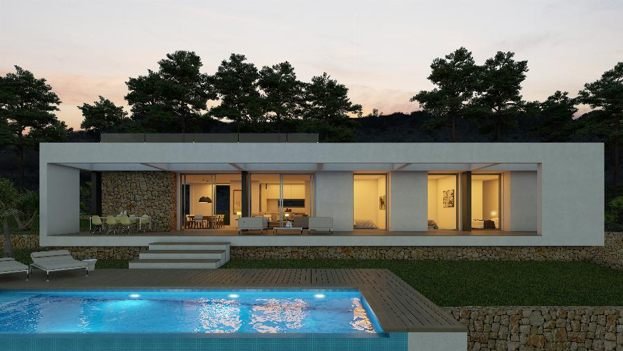 Your customised design villa with choice of plot of at least 1,000 m2 in Denia or Calpe. Ref. SPA1676
