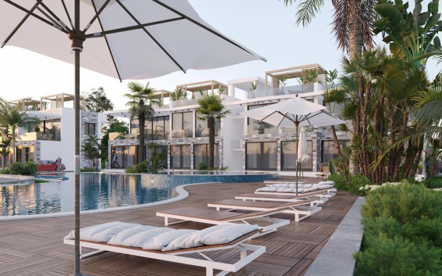 2 Bedroom Penthouse Apartment in Esentepe Ref. NC7835