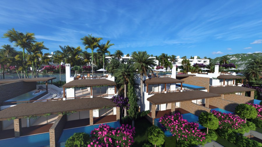 3 Bedroom Garden Apartment with Private Pool Ref. NC7846