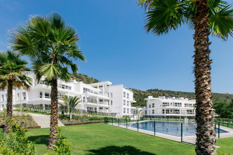 Key ready 3 bedroom 2nd floor apartments at a private and exclusive development along the River in Benahavís, at the Costa del Sol. Ref. SPA1698