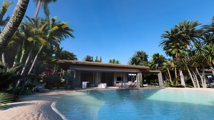 4 Bedroom Beach Villas with Private Pool Ref. NC7849