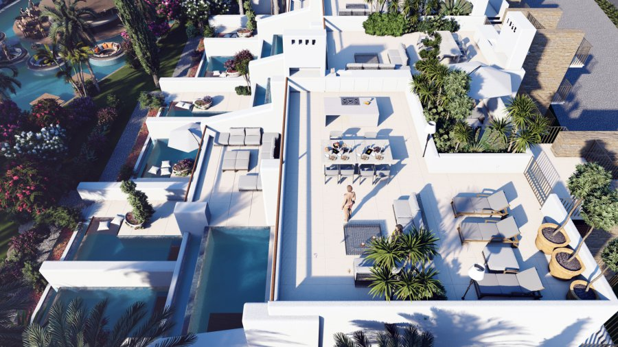 3 Bedroom Penthouse Apartment with Private Pool Ref. NC7847