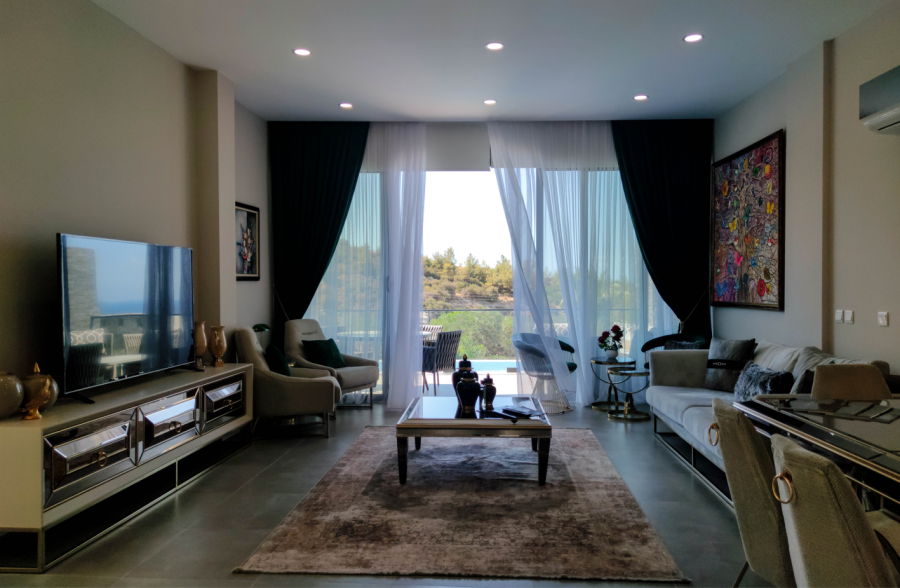 4 Bedroom Luxury Duplex Apartments with Private Pool in Bellapais Ref. NC7843