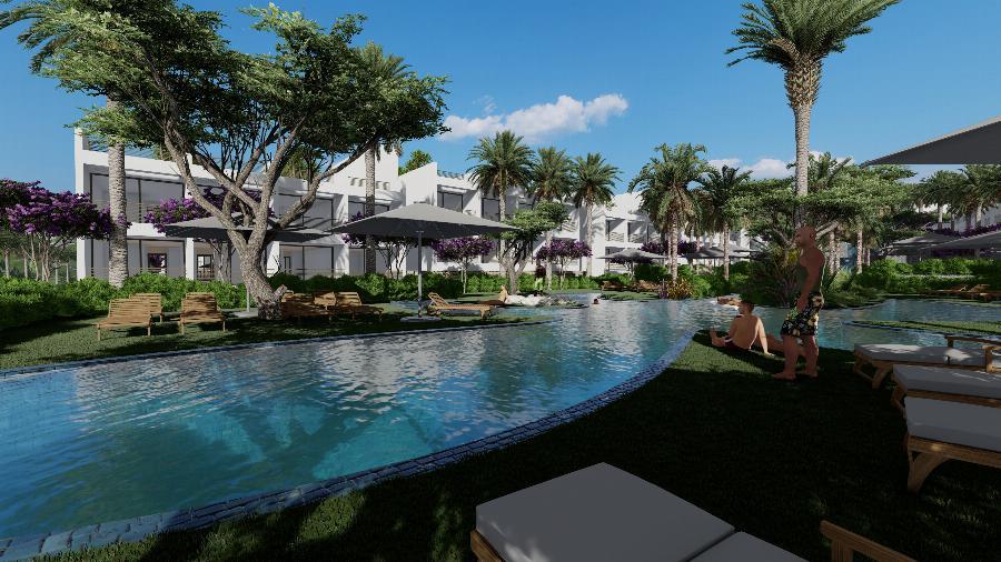 1 Bedroom Garden Apartment in Concept Project! Ref. NC7838