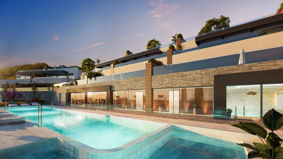 Your new 3 bedroom garden apartment with basement as optional guest studio in Marbella, with luxuries of a resort and the best common areas, integrated in an exceptional natural environment near the Mediterranean Sea. Ref. SPA1705